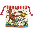 大集合款【日本進口正版】玩具總動員 束口袋 收納袋 抽繩束口袋 迪士尼 Disney 皮克斯 044559