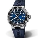 Oris豪利時AQUIS GMT雙時區陶瓷圈潛水錶 0179877544135-0742465EB
