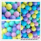 *幼之圓*現貨~台灣製~馬卡龍色彩色遊戲球~50球~海洋球/波波球/彩球