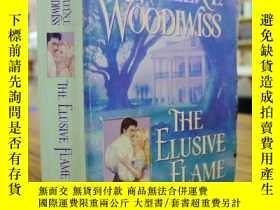 二手書博民逛書店KATHLEENE罕見WOODIWISS:THE ELUSIVE