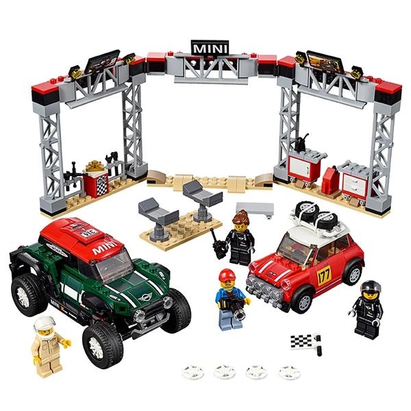 LEGO 樂高 SPEED 極速系列 75894 Mini Cooper對決 【鯊玩具Toy Shark】