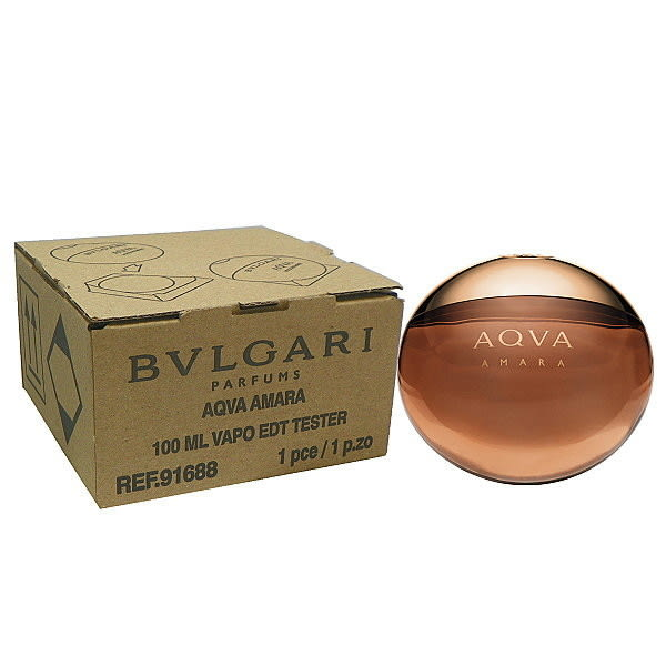 Bvlgari Aqva Amara 豔陽水能量淡香水 100ml Tester 包裝