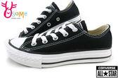 Converse帆布鞋 童 基本款低筒帆布鞋G9806#黑◆OSOME奧森鞋業