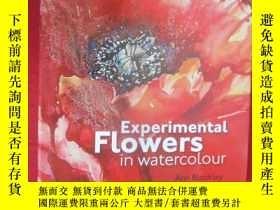 二手書博民逛書店Experimental罕見Flowers in Waterco