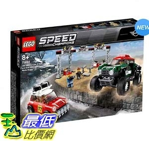 [COSCO代購] W125046 Lego 急速賽車系列 Mini Cooper & Buggy