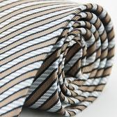 【Alpaca】暗金銀條斜紋領帶