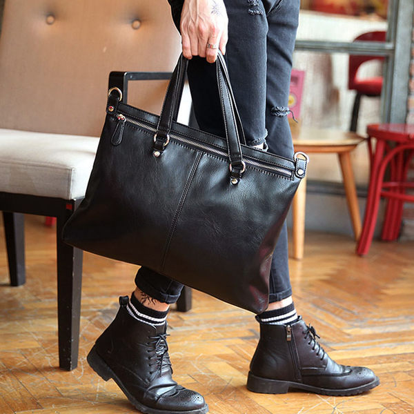 Mao 【5折超值價】 經典熱銷新款原創時尚設計商務休閒百搭手提包/側背包