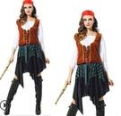 萬聖節服裝.聖誕節服裝造形服化妝舞會表演服道具服COSPLAY:大女海盜