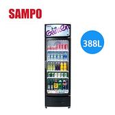 【佳麗寶】【來電享加碼折扣】SAMPO 聲寶 單門冷藏箱-388公升 KR-UC400