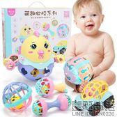 手搖鈴嬰兒玩具0-3-6-12個月女寶寶新生兒益智可咬軟膠男孩子1歲