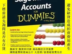 二手書博民逛書店Sage罕見Instant Accounts For Dummies, 2nd EditionY410016