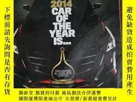 二手書博民逛書店MOTOR罕見TREND 汽車雜誌 2014年1月 英文版Y42402