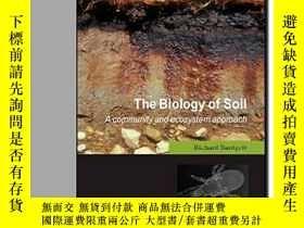 二手書博民逛書店The罕見Biology Of Soil: A Communit
