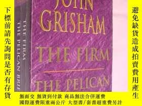 二手書博民逛書店THE罕見PELICAN BRIEF + THE FIRM (J