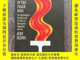 二手書博民逛書店The罕見survival of the pagan gods the mythological traditio