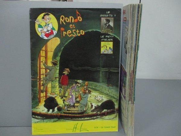 【書寶二手書T4/語言學習_OMY】Rondo et Presto_2~14冊間_12本合售