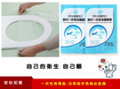 【PO膜馬桶墊】一次性透明膜馬桶座墊 加厚廁所馬桶坐墊紙 防水隔菌坐便套旅行用品