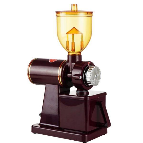 研磨機 110V台灣出口小飛鷹咖啡磨豆機家用電動咖啡豆研磨機小型研磨器 交換禮物 韓菲兒