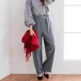 東京著衣-夢展望-OL棉料細肩帶寬版長褲-M.L(4190033)