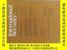 二手書博民逛書店International罕見Security (journal) FALL 2016 國際安全研究學術Y11