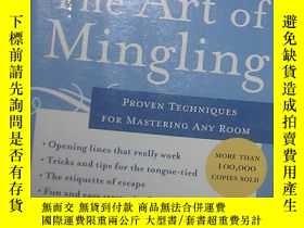 二手書博民逛書店The罕見Art of Mingling: Proven Tec