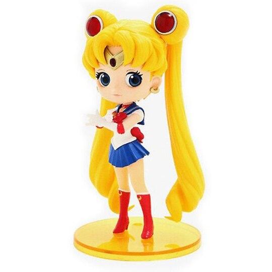 小禮堂 美少女戰士 Qposket 模型公仔 塑膠公仔 Qposket公仔 (藍黃 水手服) 4983164-35912