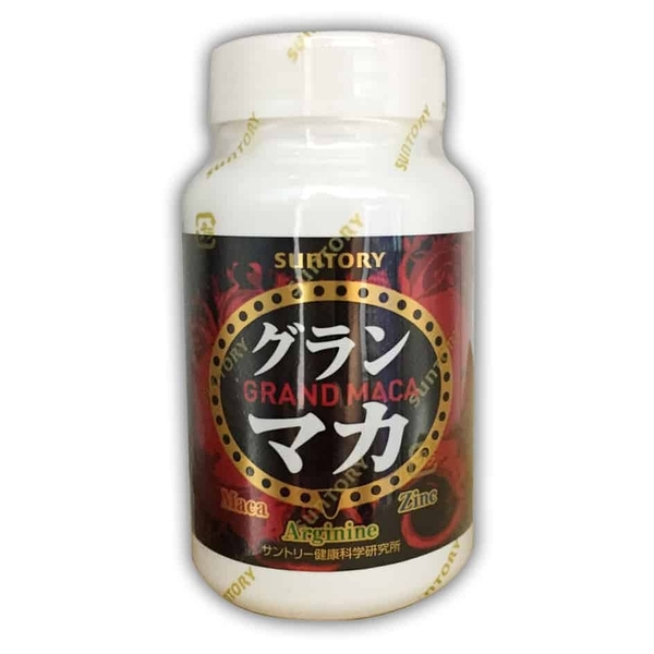 三得利 SUNTORY 御瑪卡 精胺酸+鋅 配方 30日份 120顆/瓶◆德瑞健康家◆
