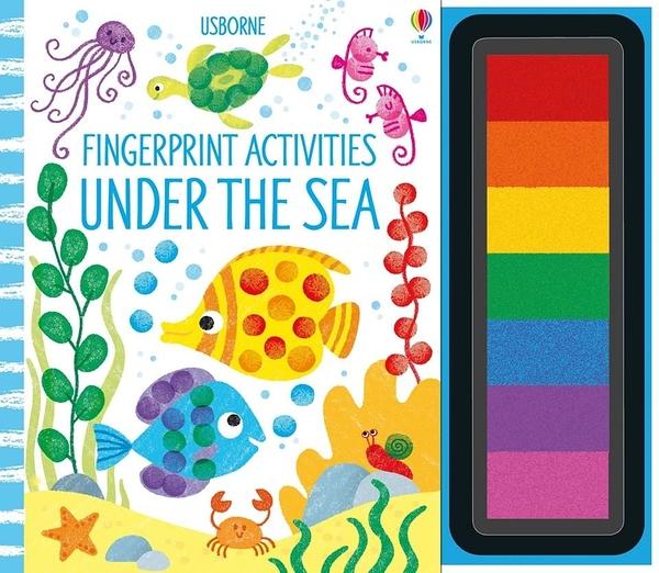 Fingerprint Activities:Under The Sea 手指印玩樂遊戲書:海底世界篇