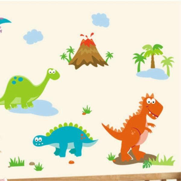 第三代恐龍世界壁貼90x60cm