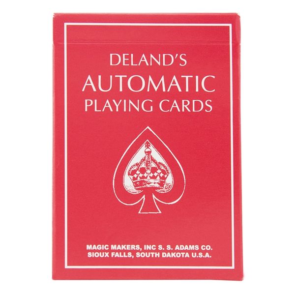 【USPCC 撲克】Delands Automatic Deck Red 終極記號牌紅