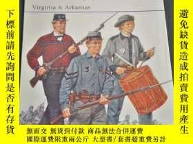 二手書博民逛書店罕見osprey系列 435 confederate Army