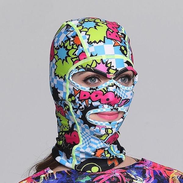 全館83折 Few飄牌男女臉基尼 防曬防紫外線 游泳潛水帽潛水頭套防水母面罩