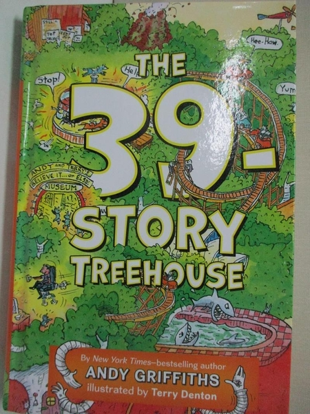 【書寶二手書T3/原文小說_G5I】The 39-Story Treehouse: Mean Machines & Mad Professors!_Griffiths, Andy