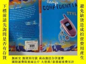 二手書博民逛書店cam罕見conf ident i al 一點自信Y200392