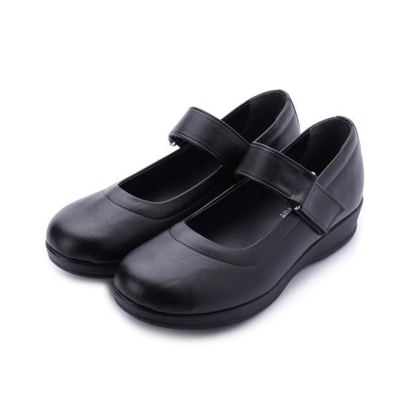 ZOBR 鏤空氣墊底娃娃鞋 黑 女鞋 鞋全家福