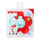 Pigeon貝親 - 固齒器/咬牙器 橘紅花瓣