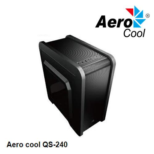 Aerocool QS-240 電腦 機殼 黑色
