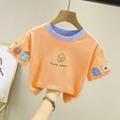 女童短袖上衣 兒童t恤夏裝男女童半袖體恤小童純棉寶寶打底衫嬰兒上衣-Ballet朵朵