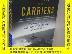 二手書博民逛書店英文版罕見Clash of The Carriers: The