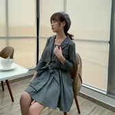 LIER家秋季新款短款西裝外套收腰抹胸連身裙網紅兩件套套裝女 童趣屋