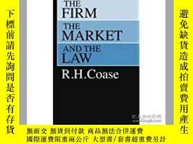 二手書博民逛書店The罕見Firm,The Market and The Law