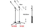 凱傑樂器 STANDER W-920B 斜桿式 麥克風架 加重加粗型