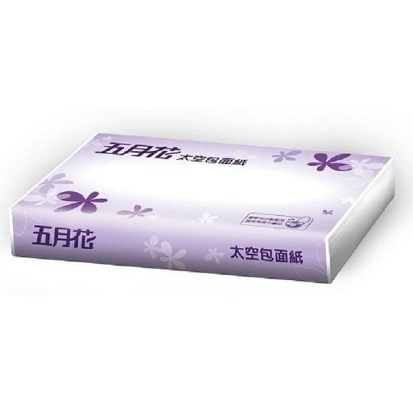 【南紡購物中心】五月花 太空包面紙-可分散配方100抽X96包