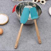 藝廚加長大號刮刀刮鏟專業硅膠不粘鍋鏟奶油攪拌烘焙工具廚師機用