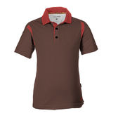 PolarStar 男 涼感銀離子短袖POLO衫『咖啡』P17157 吸濕排汗│商務休閒服│短袖透氣運動服│涼感衣