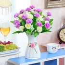 模擬假花客廳臥室內擺設塑膠花卉套裝飾品茶幾餐桌乾花束盆栽擺件 ciyo黛雅
