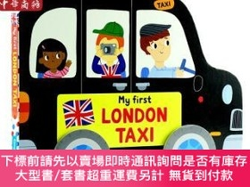 二手書博民逛書店罕見原版 my first london taxi倫敦巴士 少兒童英語啟蒙紙板Y454646 111 Camp