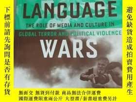二手書博民逛書店Language罕見Wars: The Role of Medi
