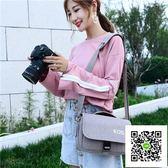 佳能相機包單反單肩便攜微單文藝攝影70D700D80D200D800D M6M100  玫瑰女孩
