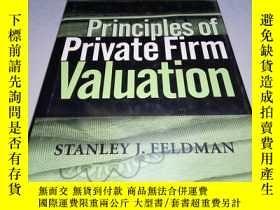 二手書博民逛書店英文精裝原版罕見Principles of Private Fi